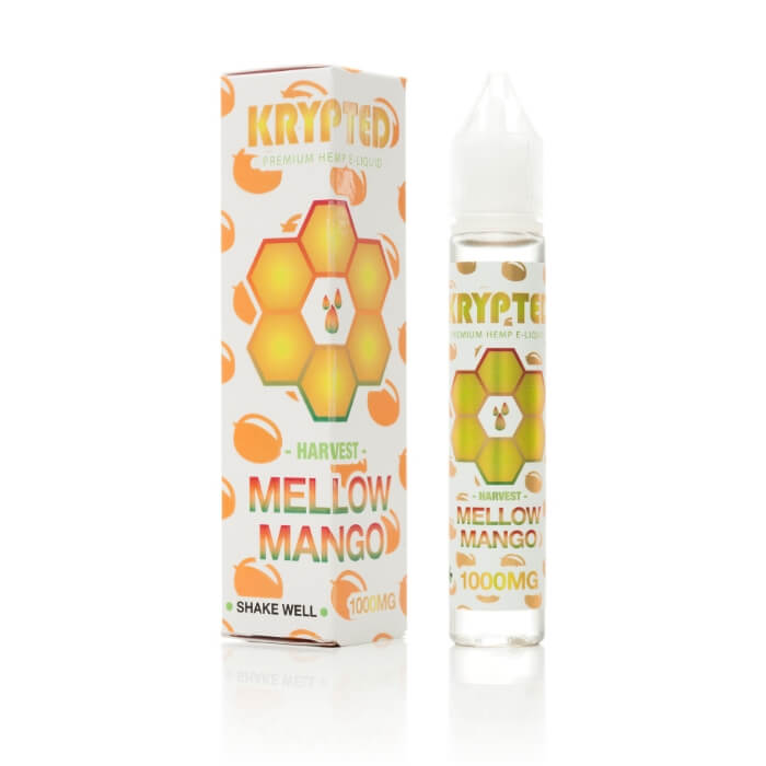 Krypted CBD Mango Vape Juice