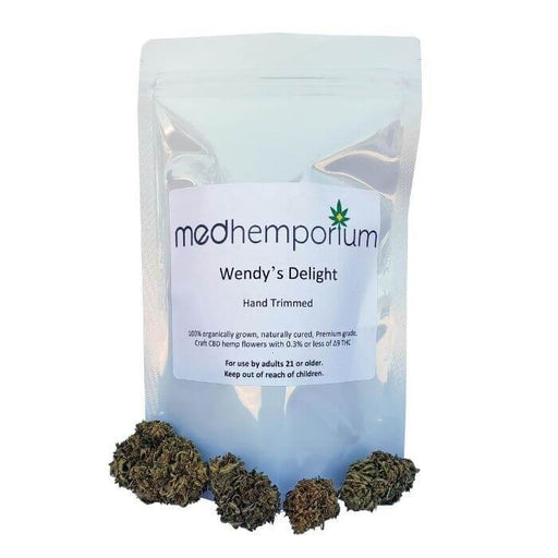 MedHemporium CBD Wendy's Delight Hand Trimmed Hemp Flower