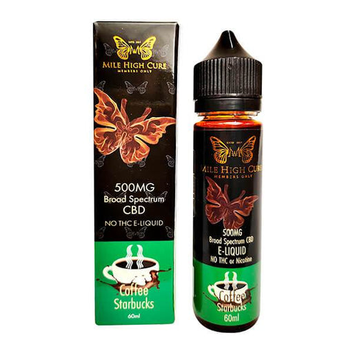 Mile High Cure CBD Starbucks Coffee CBD Vape Juice