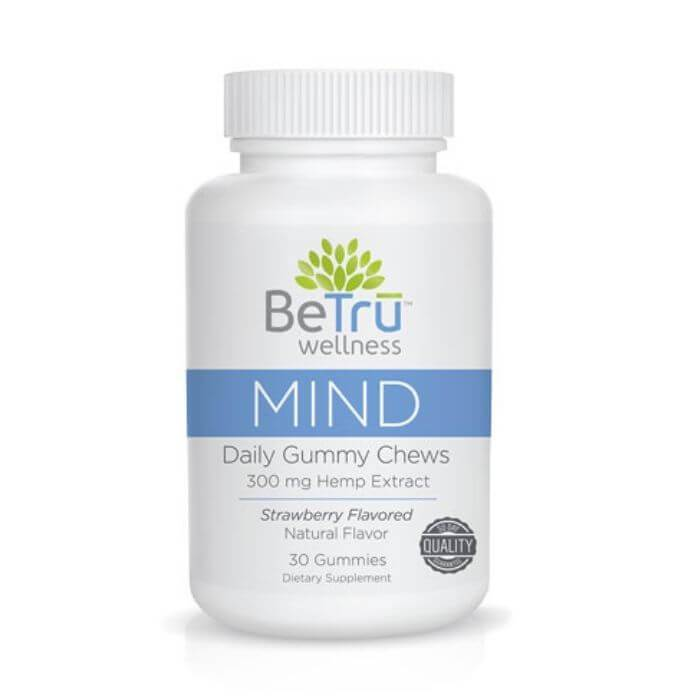 Be Tru Wellness Mind CBD Gummy Chews