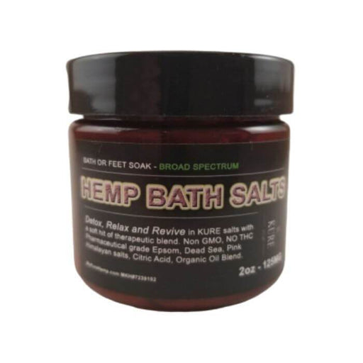 My Kure CBD Bath Salts