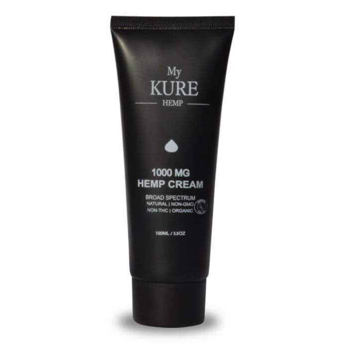 My Kure CBD Squeeze Hemp Cream
