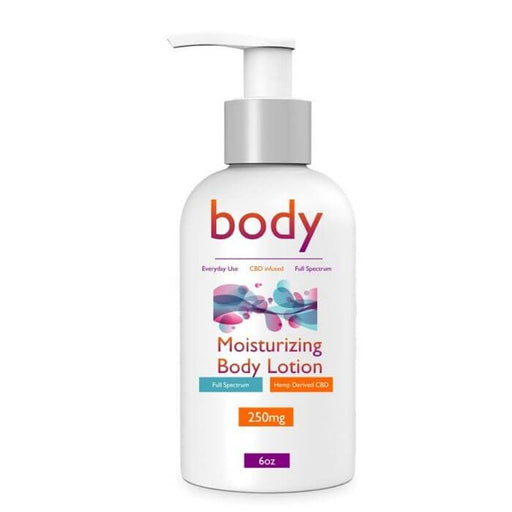 Mystic Naturals Moisturizing CBD Body Lotion