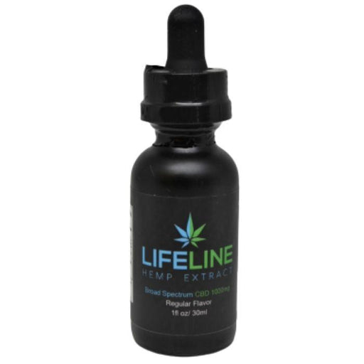 Natural CBD Tincture by Lifeline Hemp Extract