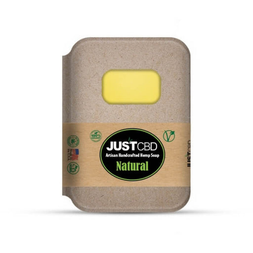 Natural Hemp Soap by JustCBD