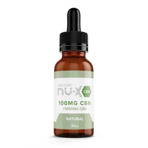 Nu-X CBD Natural CBN Tincture