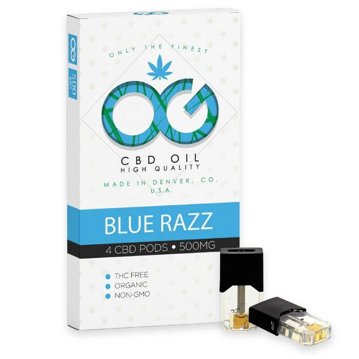 OG Laboratories OG CBD Blue Razz Pods