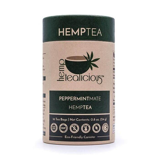 Pure Hemp Botanicals Peppermint Mate Pure Hemp Tea