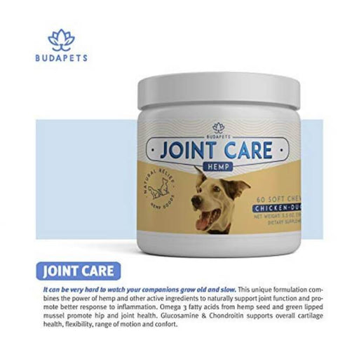 Budapets CBD Pets Joint Care Hemp Chews