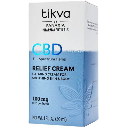 Pharmaceutical CBD Relief Cream by Tikva