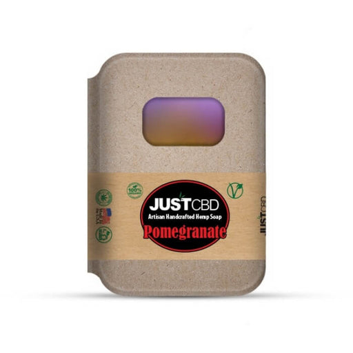 Pomegranate Hemp Soap by JustCBD
