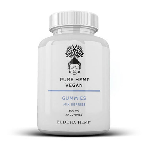 Premium Hemp Vegan CBD Gummies by Buddha Hemp