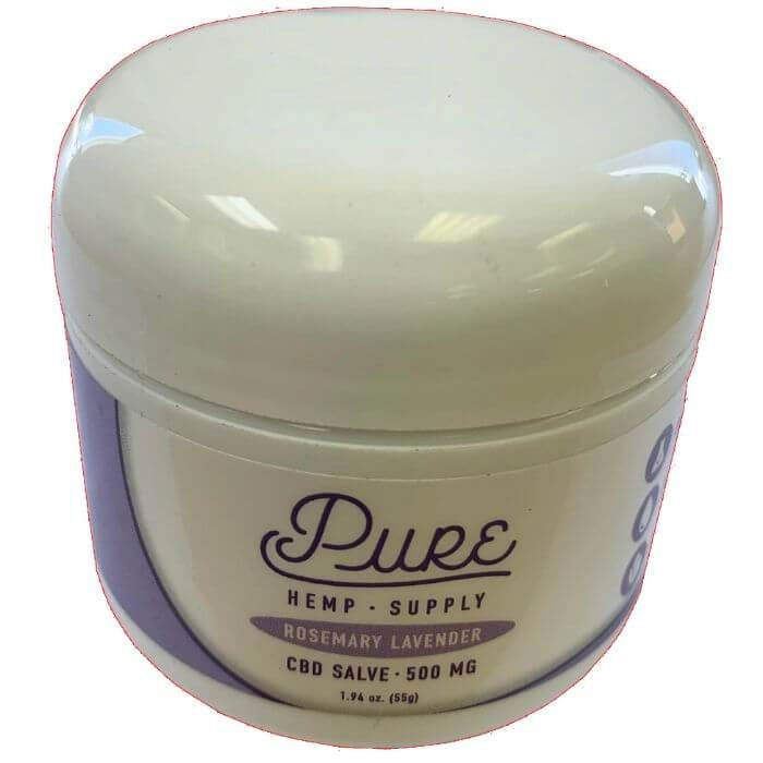 Pure Hemp Supply Rosemary Lavender CBD Salve