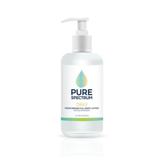 Pure Spectrum CBD Daily Natural Full Body Lotion