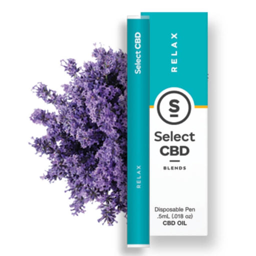 Relax Lavender CBD Vape Pen by Select CBD