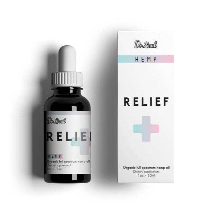 Dr. Soul Relief CBD Hemp Drops