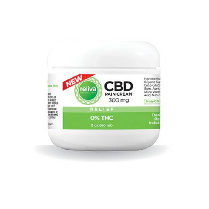 Reliva CBD Wellness Relief CBD Pain Cream