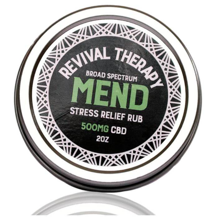 Revival CBD Broad Spectrum Mend Stress Relief Rub