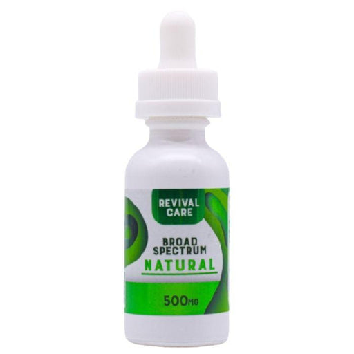Revival CBD Broad Spectrum Tincture Naturals
