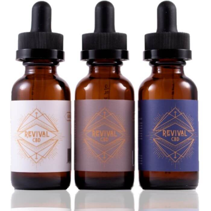 Revival CBD Gold MCT Oil
