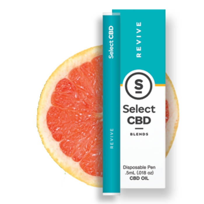 Revive Grapefruit CBD Vape Pen by Select CBD