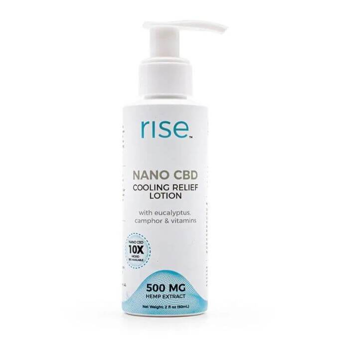 Rise CBD Cooling Relief Lotion