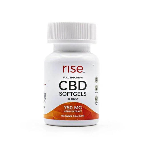 Rise CBD Softgels