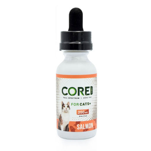 Salmon Flavored CBD for Cats by Core CBD