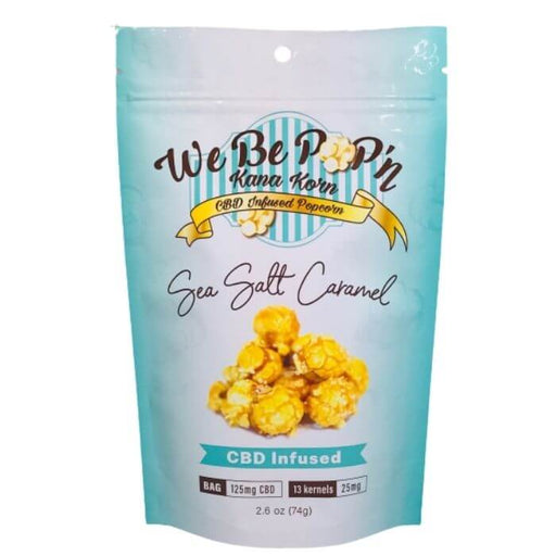 Sea Salt Caramel CBD Popcorn by Kana Korn