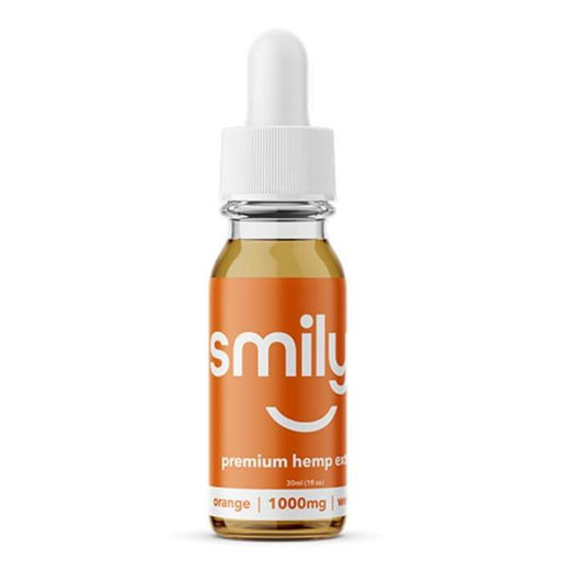 Smilyn Wellness CBD Orange Tincture
