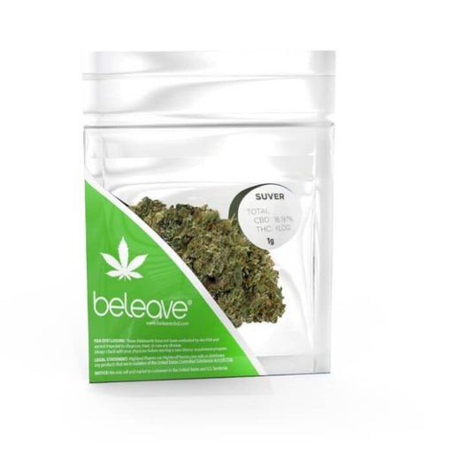 Beleave CBD Suver Pouch