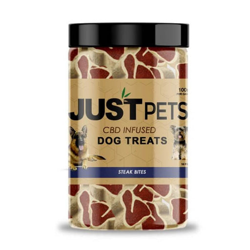 JustCBD Steak Bites CBD Infused Dog Treats
