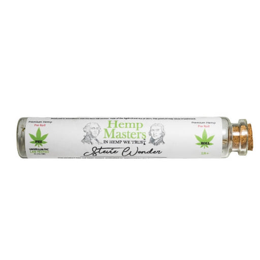 Stevie Wonder CBD Pre-Roll by Hemp Masters