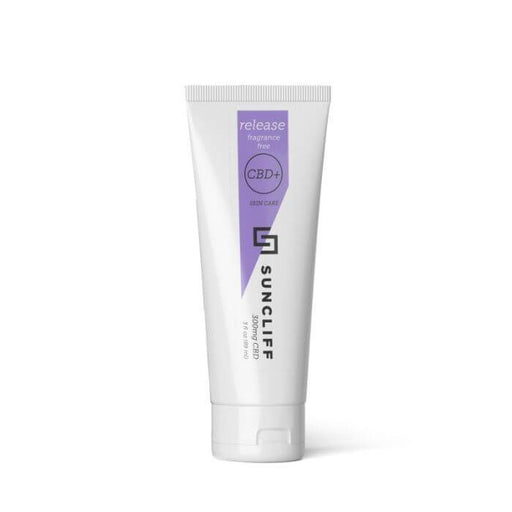 Suncliff Fragrance Free CBD Lotion