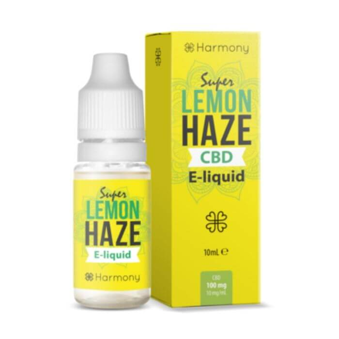 Harmony CBD Super Lemon Haze CBD eJuice