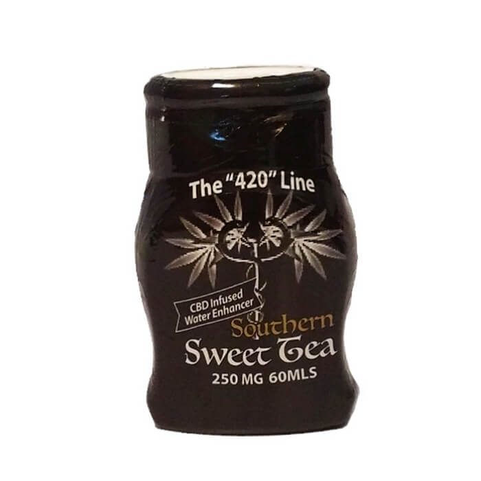 Lady Boss Vapor The 420 Line Sweet Tea Water Enhancer