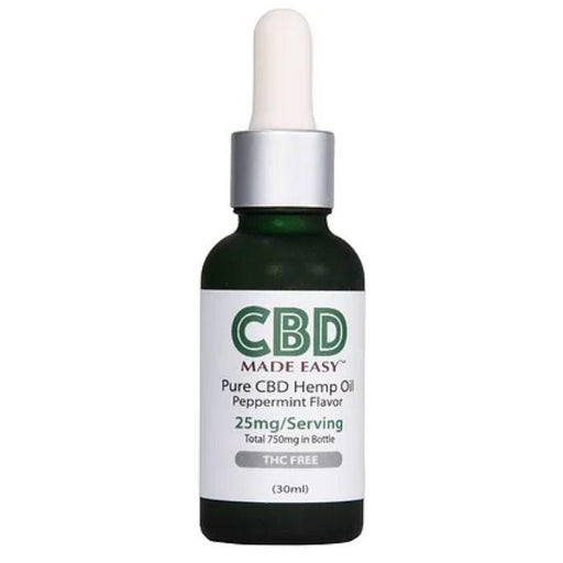 THC Free CBD Hemp Oil by CBD Made Easy