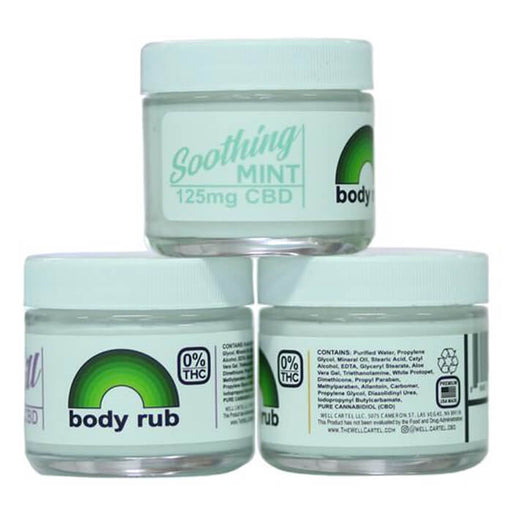 CBD Body Rub by The Well Cartel