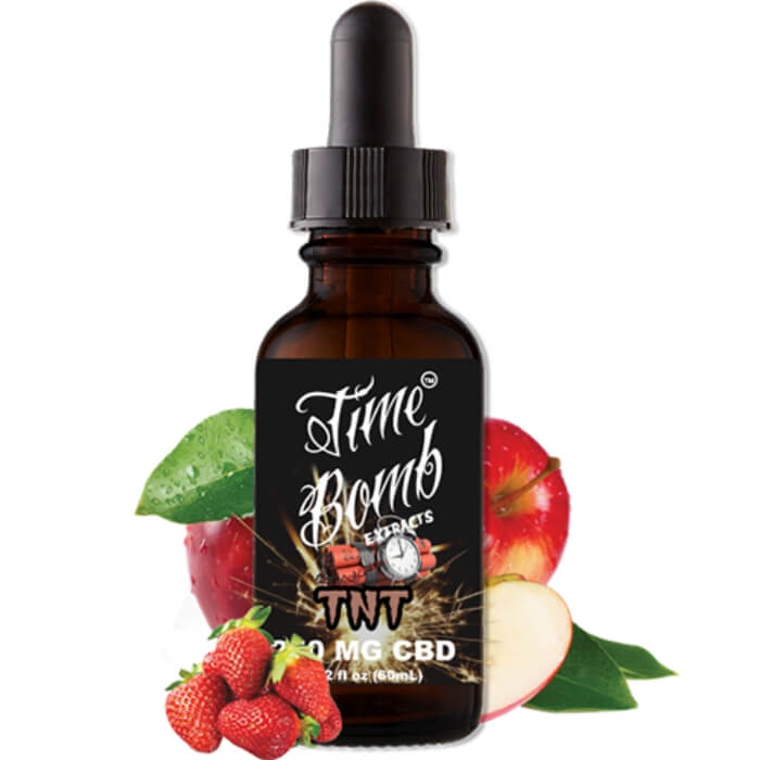 TNT CBD Vape Juice by Time Bomb Extracts