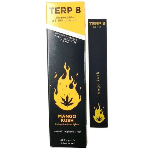 Mango Kush Disposable Delta-8 Pen by Terp 8 CBD