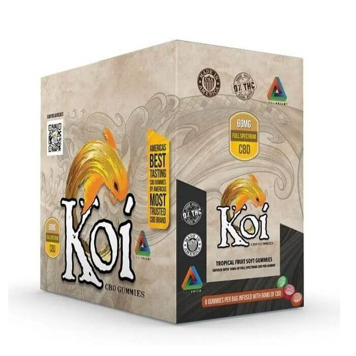 Koi CBD Tropical Fruit Soft Gummies (6-Pack)