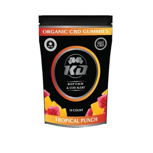 Tropical Punch CBD Gummies by Knockout CBD