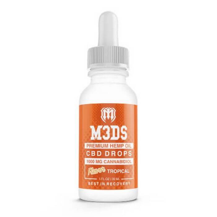 Vape Craft CBD M3ds Tropical Tincture