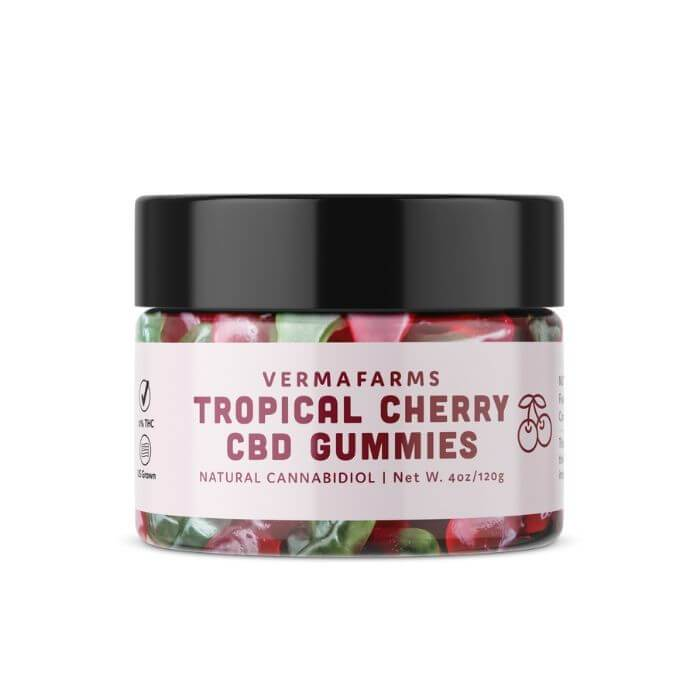 Verma Farms Tropical Cherry CBD Gummies
