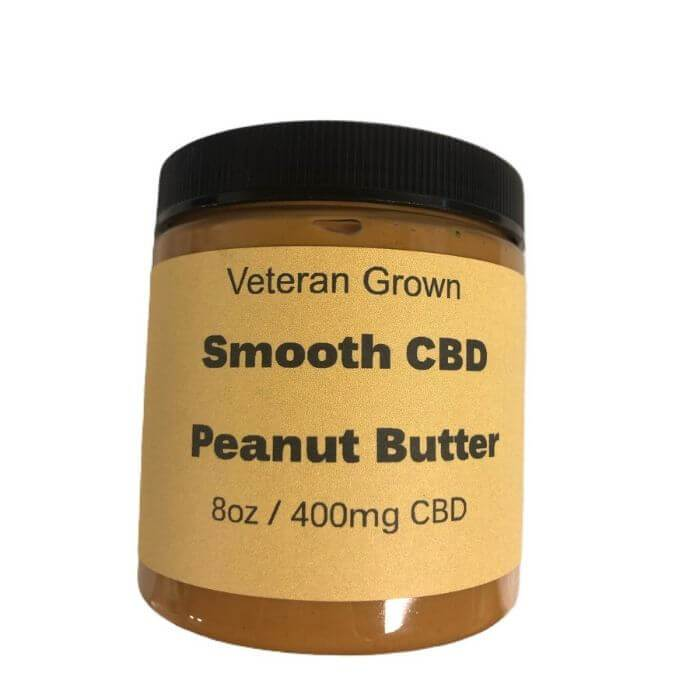 Veteran Grown Hemp CBD Peanut Butter