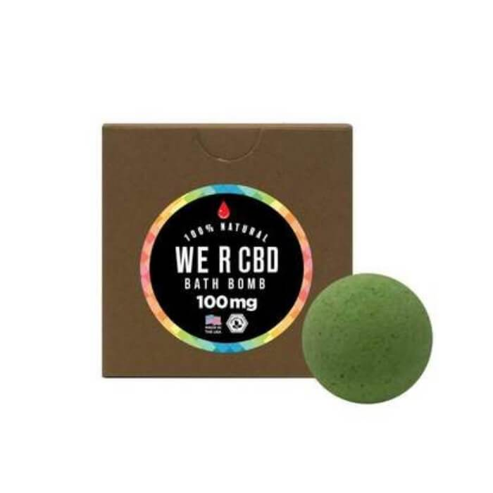 WE R CBD Dreams Bath Bomb