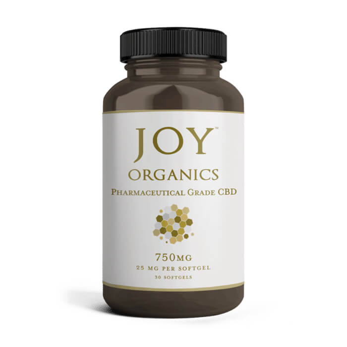 25MG Hemp Oil Soft Gels by Joy Organics