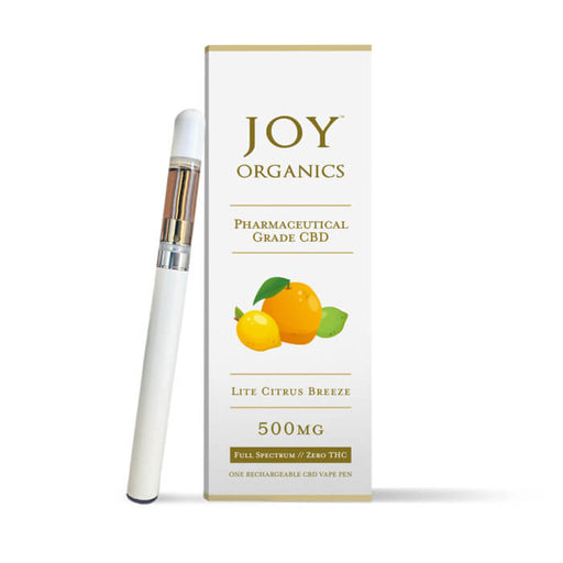 500MG Rechargeable Vape Pen by Joy Organics