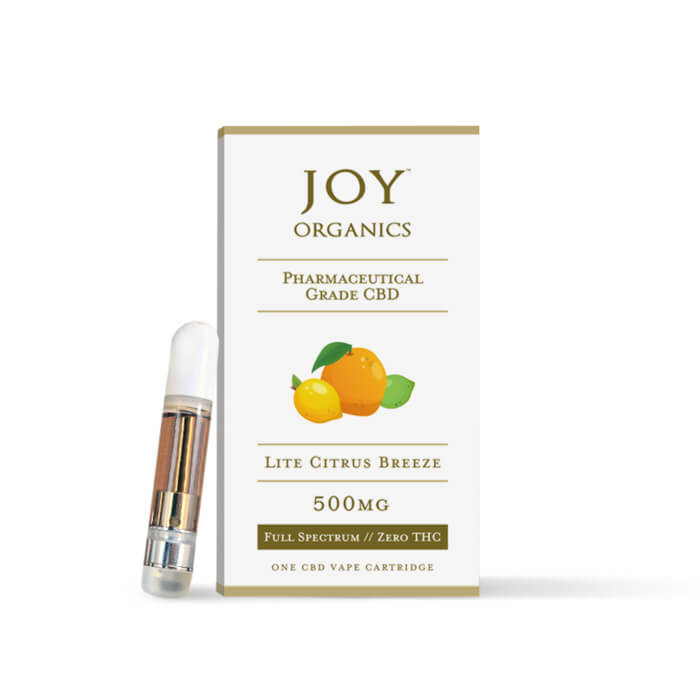 500MG Vape Cartridge by Joy Organics
