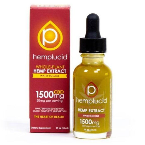 Whole-Plant Water Soluble CBD Tincture by Hemplucid